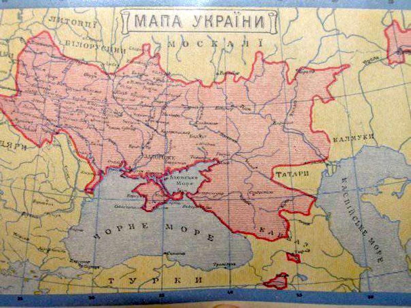 Украина хочет присоединить к себе часть территорий России и Европы