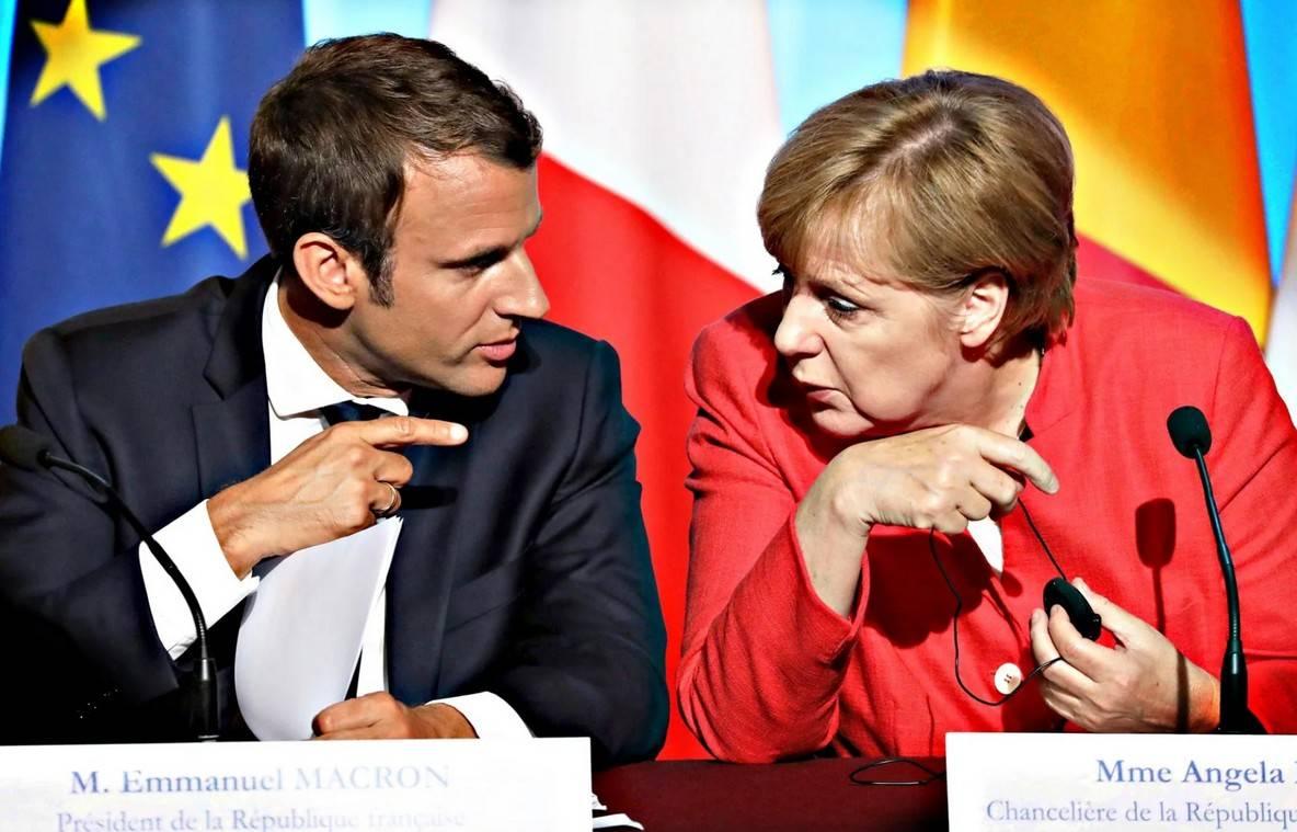 Европа рвет с «англосаксонским миром» устами Макрона и Меркель