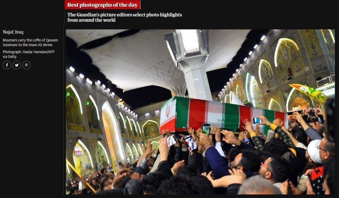Запад в шоке от похорон генерала Сулеймани: «Бесконечное море людей на улицах» (ФОТО, ВИДЕО) 10