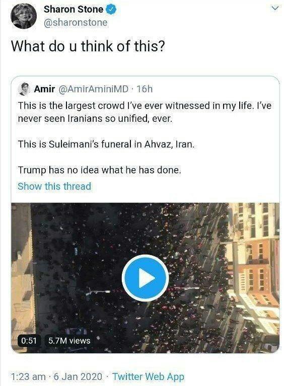 Запад в шоке от похорон генерала Сулеймани: «Бесконечное море людей на улицах» (ФОТО, ВИДЕО) 9