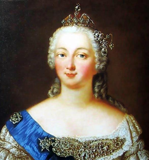 Елизавета Петровна Романова (1709-1762).