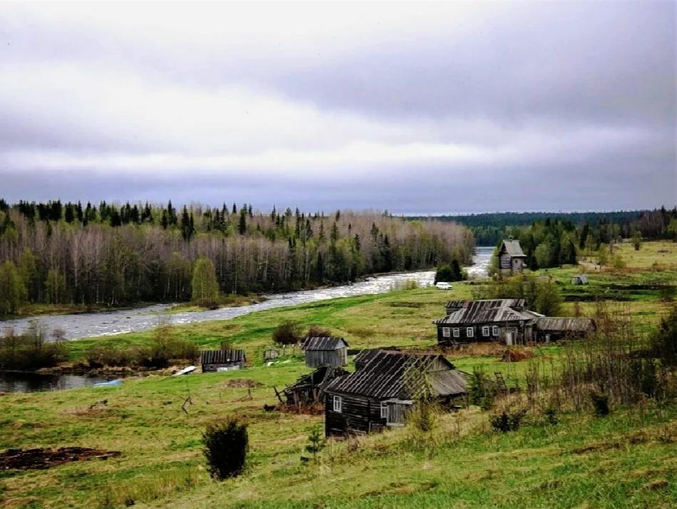 смотрятся фото на месте бывшей деревни полотно геотекстиль