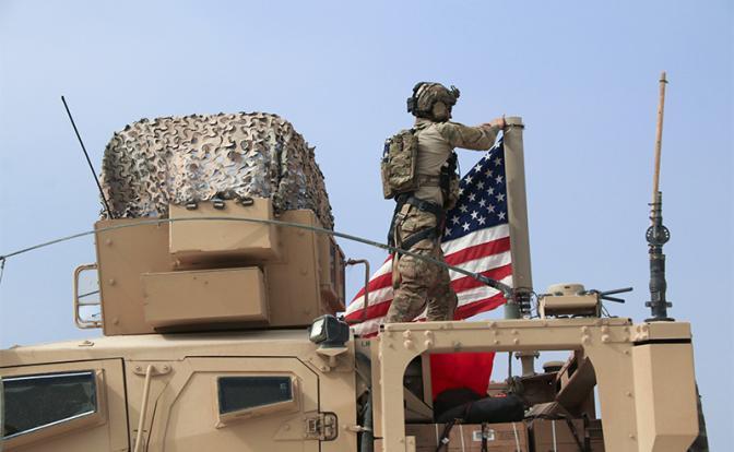 Огонь без поражения: США и Россия воюют между