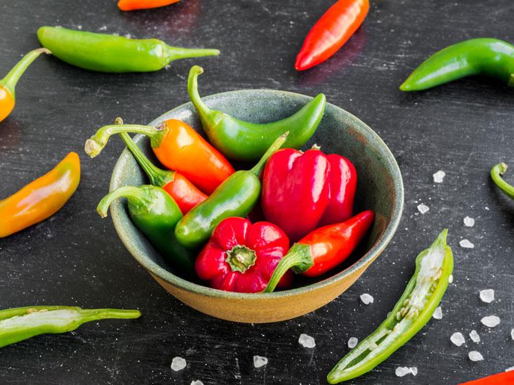 В чём заключается польза острой пищи