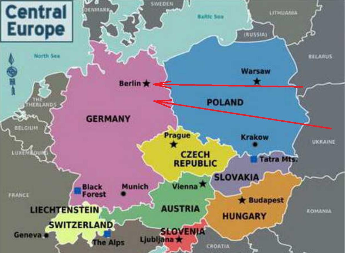 Путь Красной Армии на Берлин пролегал через Польшу.