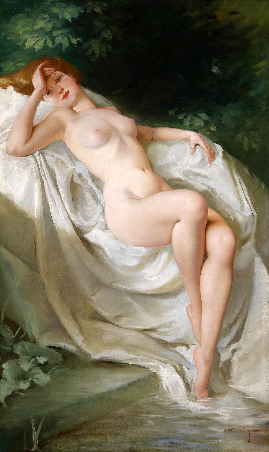Eight Great Classical Female Nudes
