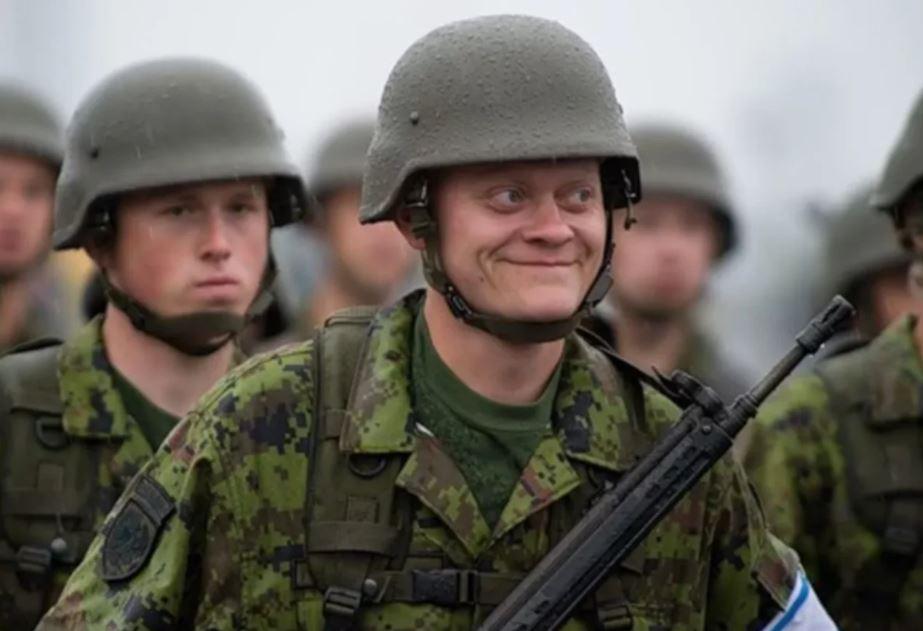 НАТО готовит ополченцев в Прибалтике для борьбы с Россией...