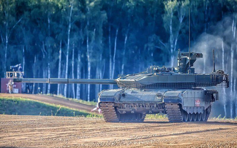 Российский танк Т-90 продолжает «покорять» мир