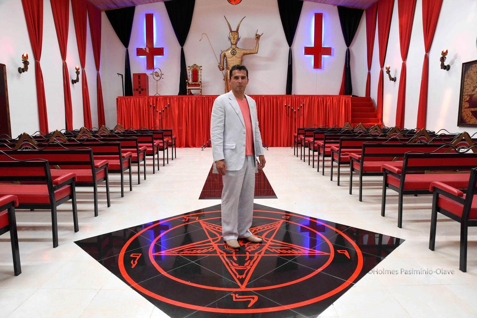 Новая реальность — церковь Сатаны в США, штат Калифорния.