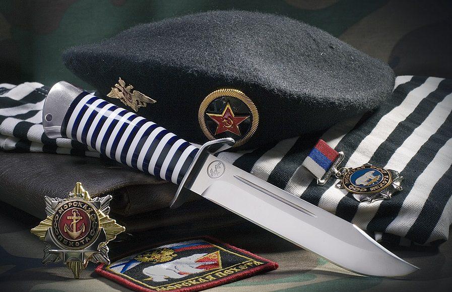 27 ноября в России отмечают День морской пехоты...