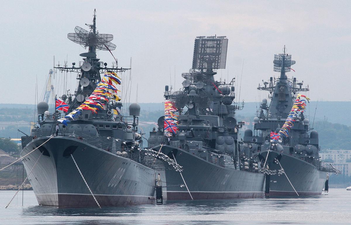 Новые проекты Военно-морского флота России призваны обезоружить флот США...