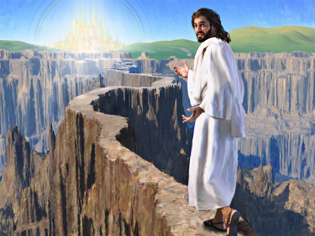 Картинки с иисусом христом и врата рая