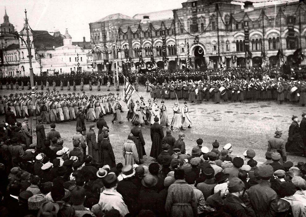 Москва, 1918 год.