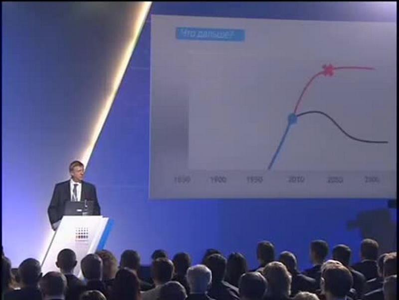 Обратите внимание на график: поворотная точка для человечества — 2010 год!