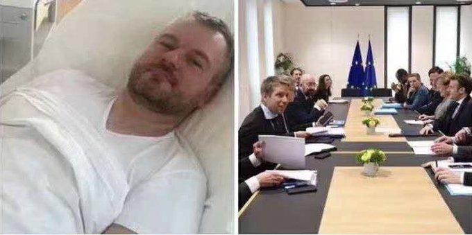 Госпитализированный премьер Словакии мог заразить Covid-19 топ-управленцев из 27 стран ЕС