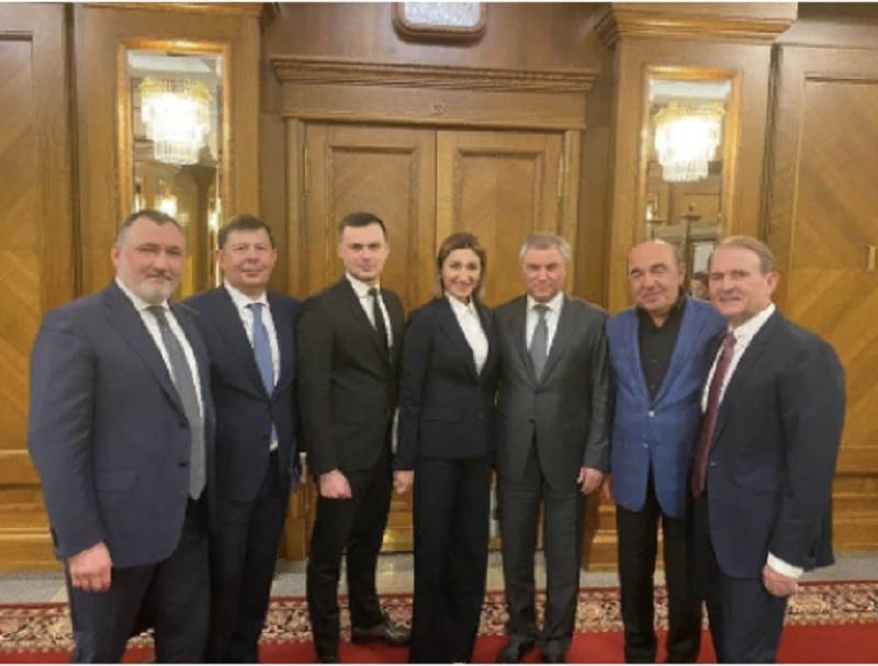 Депутаты Верховной рады посетили Государственную Думу РФ
