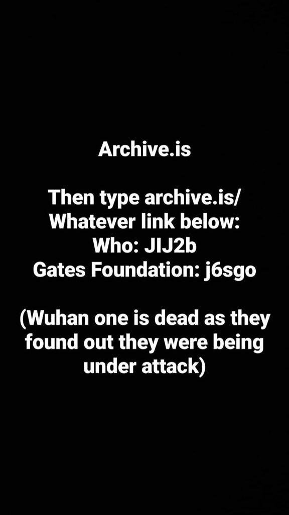 Ну вот и всё: USA HACKERS взломали сервера уханьского института, ВОЗ, CDC, Гейтса, Марины Абрамович EWGqVNlXkAML1vb