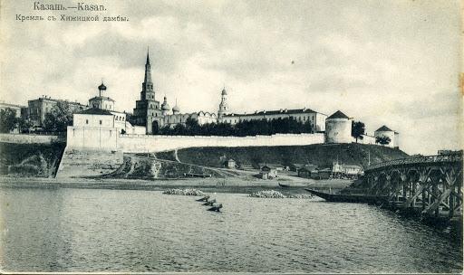 Казанский кремль, примерно конец 19-го века