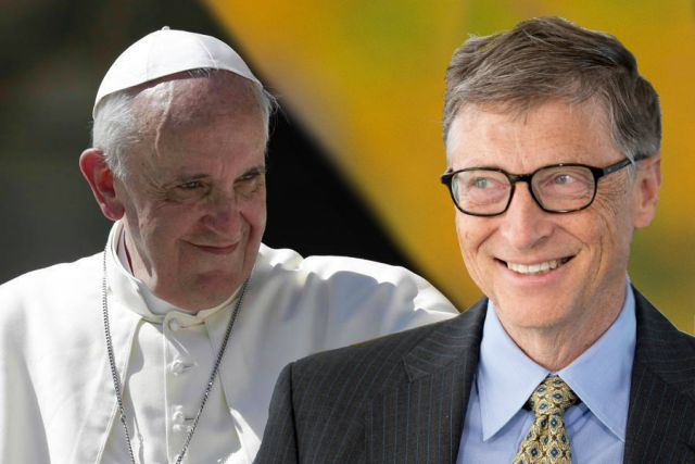 Два всадника апокалипсиса: Билл Гейтс и Папа Римский 53ad8115e1a09