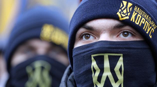 «Соборная Украина»: власть и нацисты