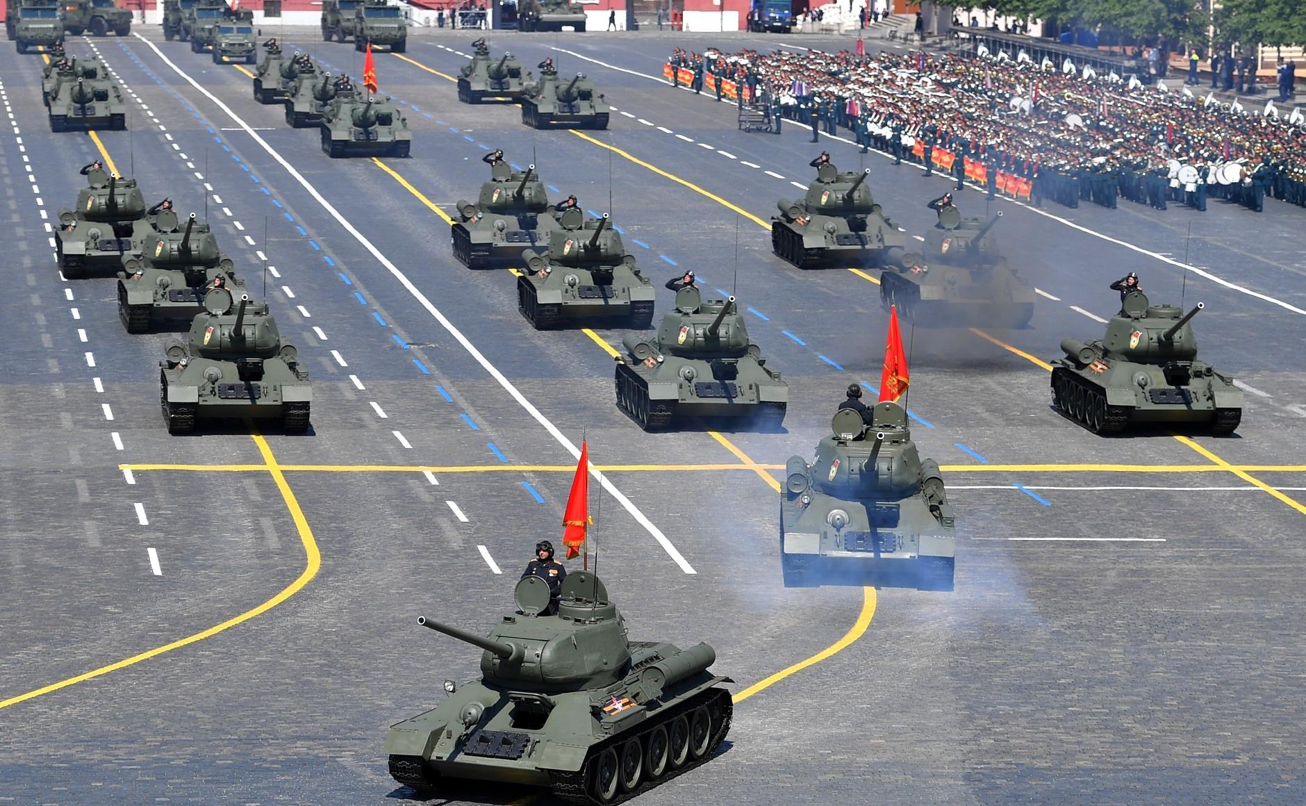 Реакция иностранцев на Парад Победы-75