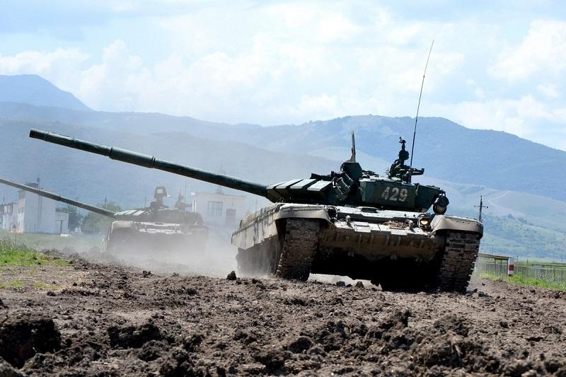 Русские танки в Херсоне