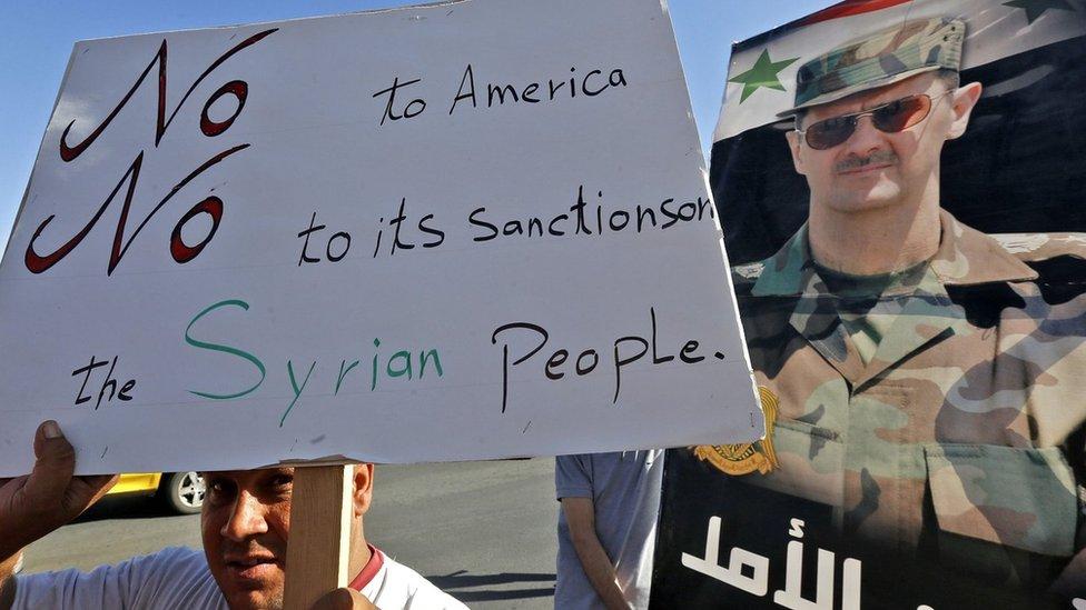 В США приняли «закон Цезаря», заморозить активы, работающих с Сирией компаний. Что грозит России и Сирии?