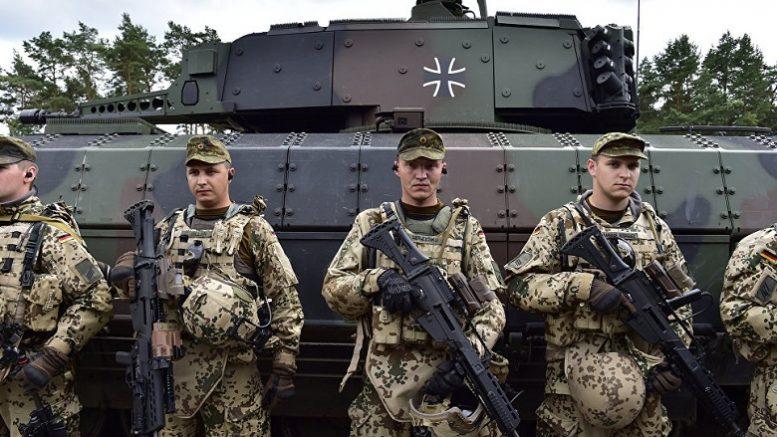 Германский милитаризм подал голос впервые после
