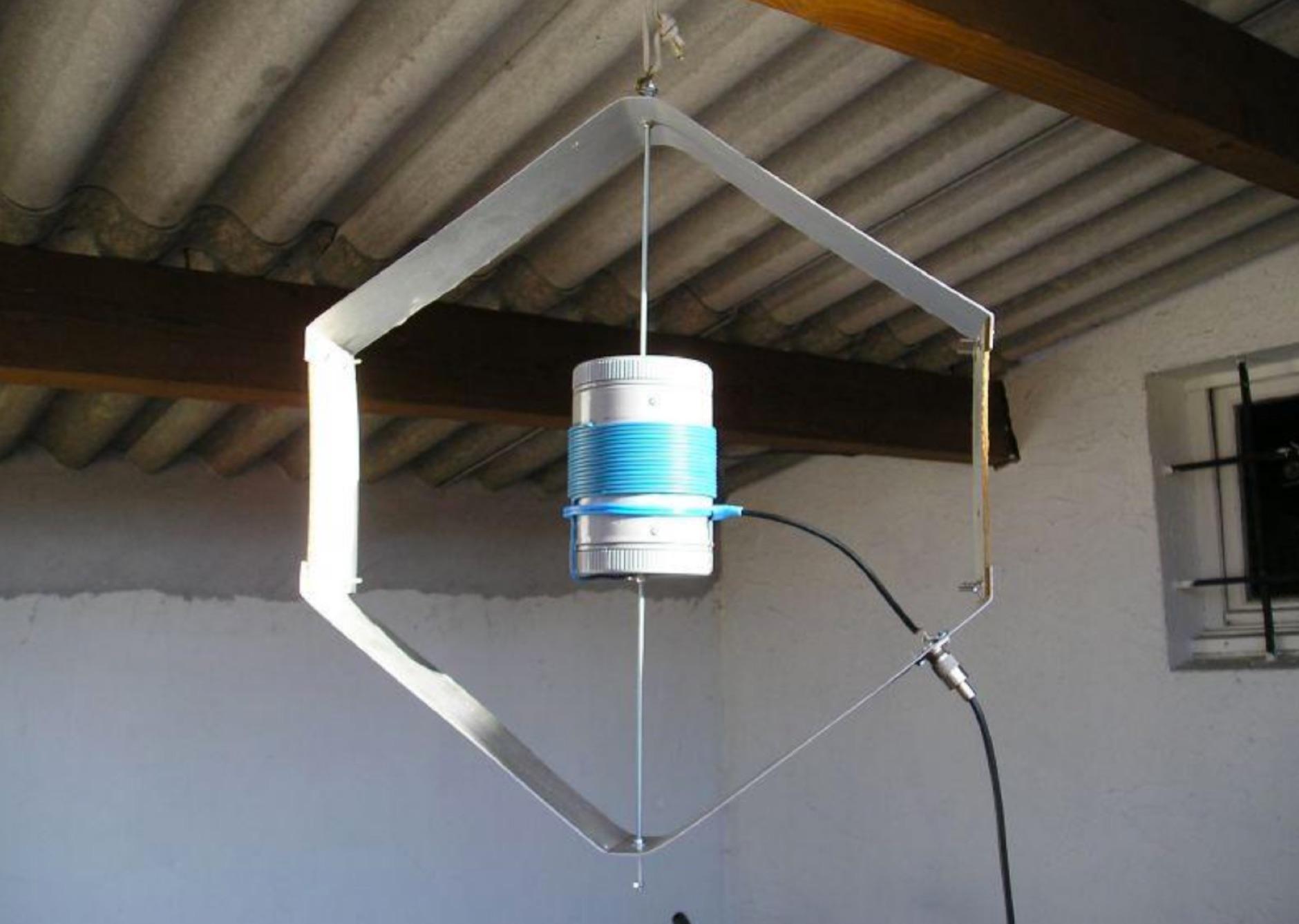 Данный экземпляр антенны рассчитан на работу в 40-метровом диапазоне.