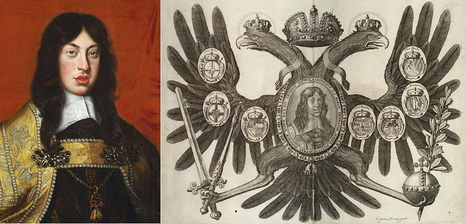 Леопольд I и его Герб.