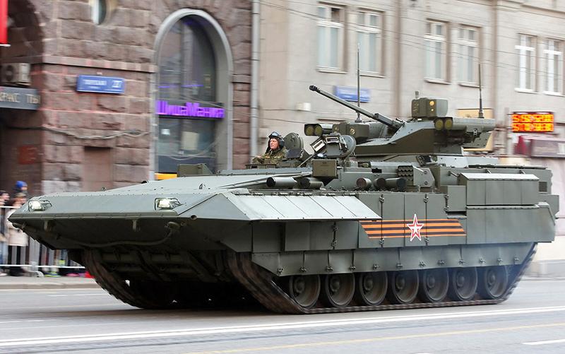 Т-15 «Армата» – боевая машина будущего?...