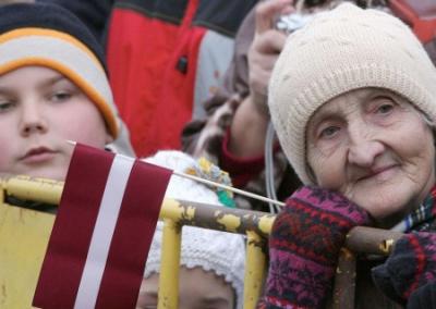 Хроники прибалтийского «европейства»: за Латвию —