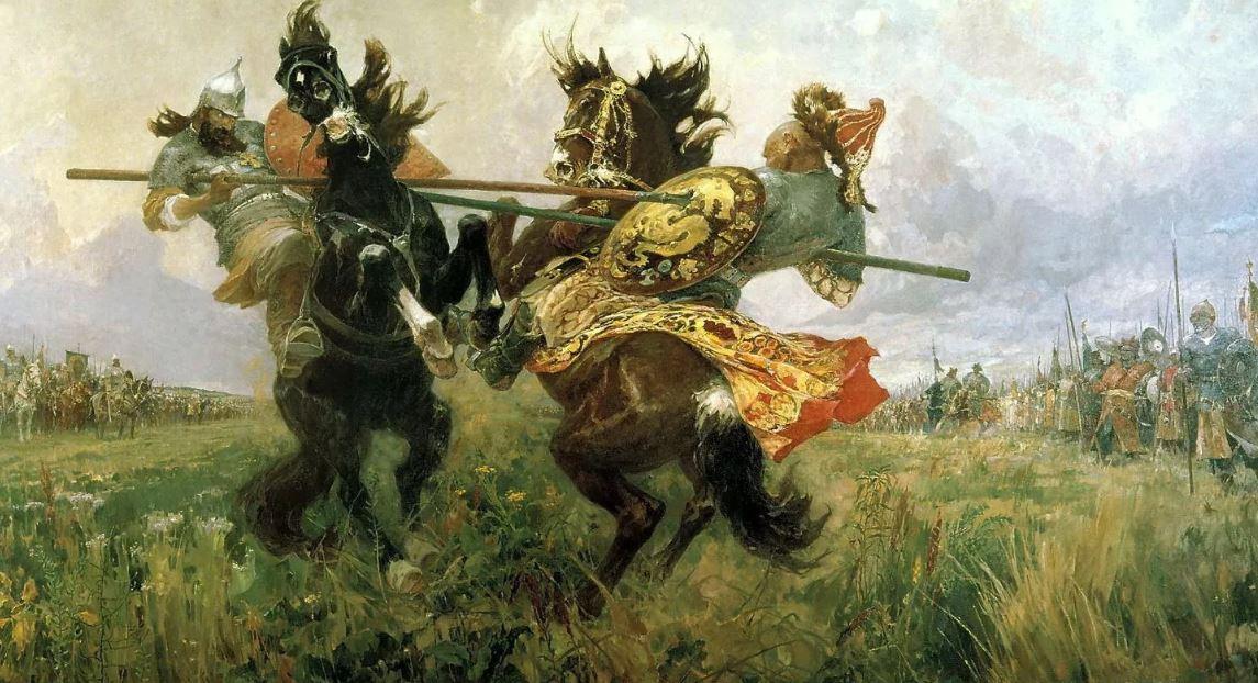 Битва-легенда: разгром ордынцев на Куликовом поле...