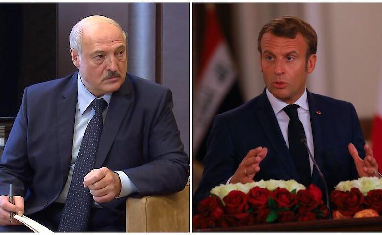 Как опытный политик – незрелому: Лукашенко едко осадил болтливого Макрона
