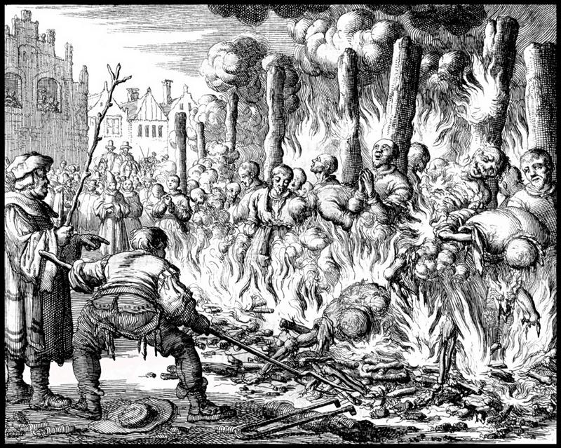 Массовые казни в Священной Римской империи.