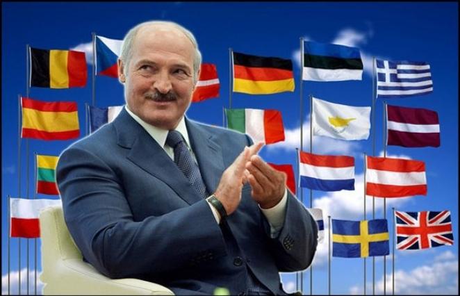 Лукашенко бросил в евроболото камень. Жабы заквакали