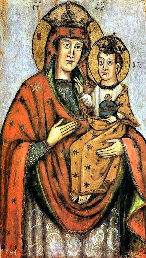 Минская икона Божией Матери 1744 г.
