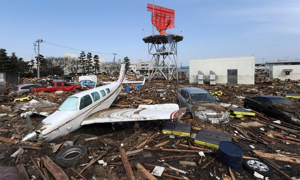 Разрушительное цунами 2011 года в Японии — фейк!