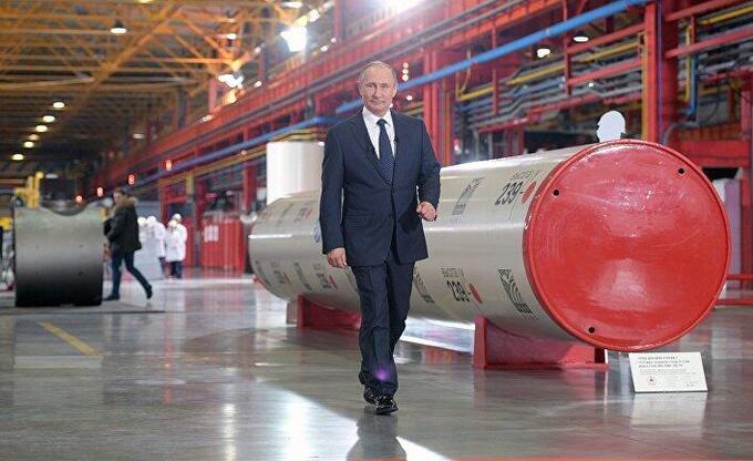 The Telegraph (Великобритания): путинская газовая