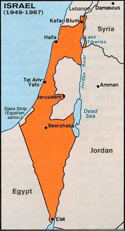 """""""Шестидневная война"""" Израиля как акт терроризма 5"""