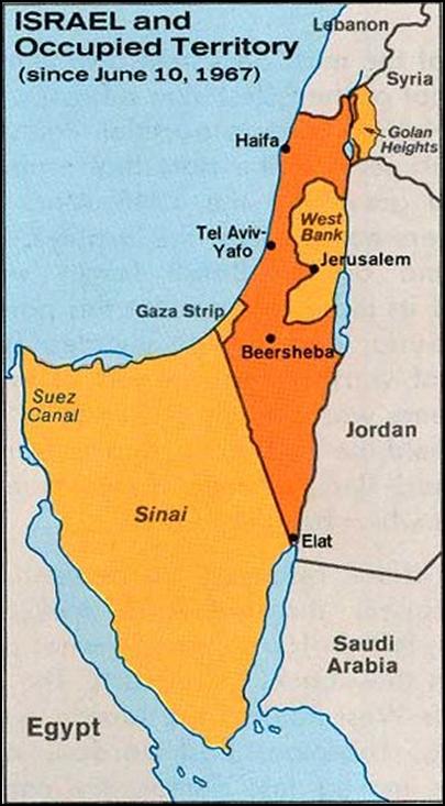 """""""Шестидневная война"""" Израиля как акт терроризма 6"""