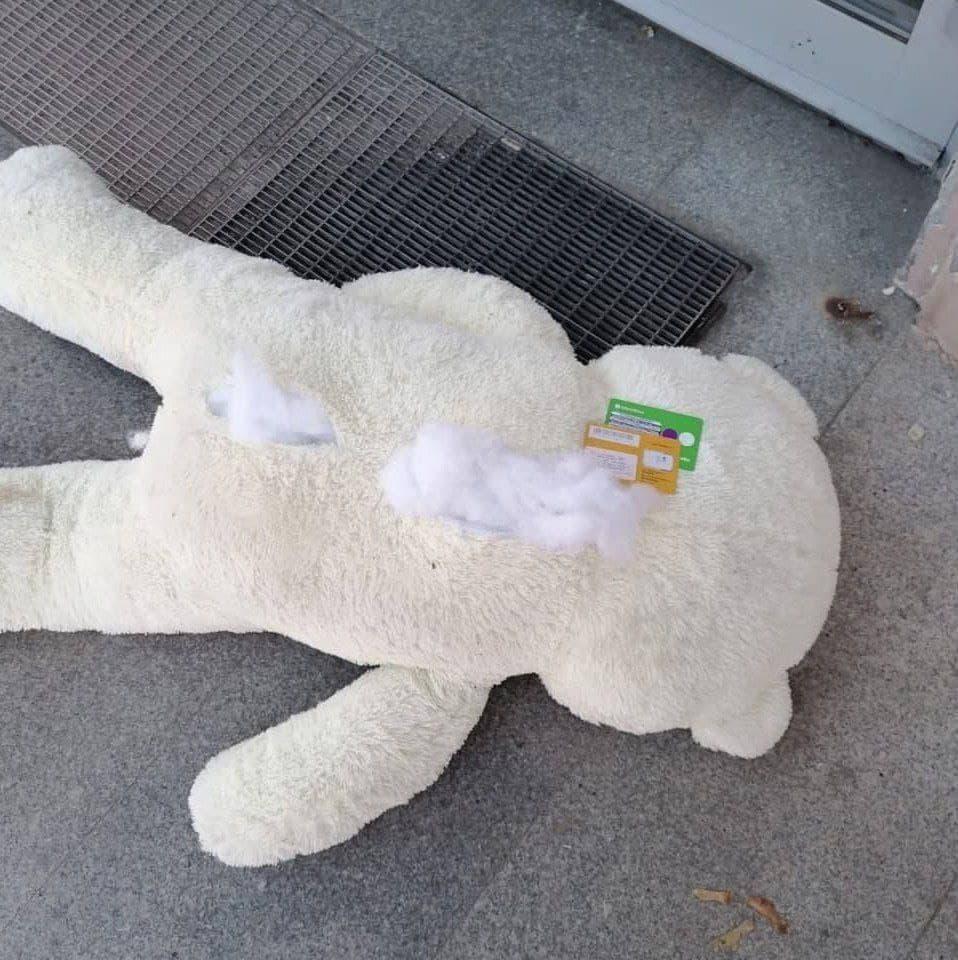 На плюшевого медведя вызвали ОМОН 2