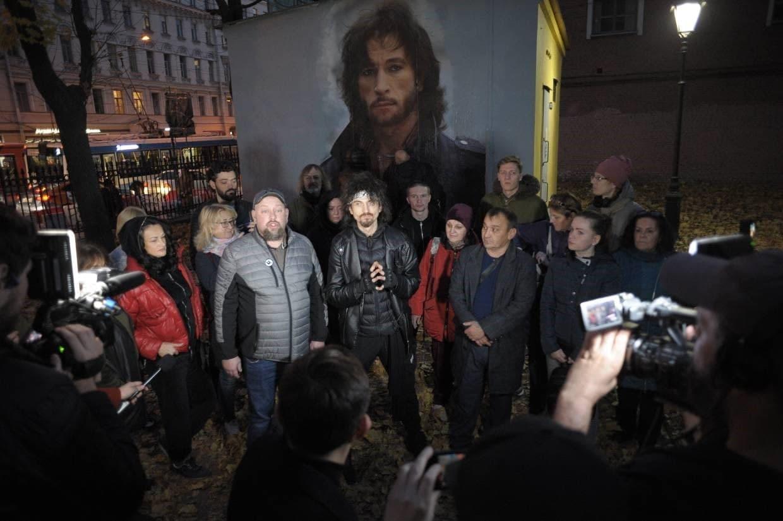 Петицию в защиту граффити с Тальковым на Литейном подписали более ста человек 2