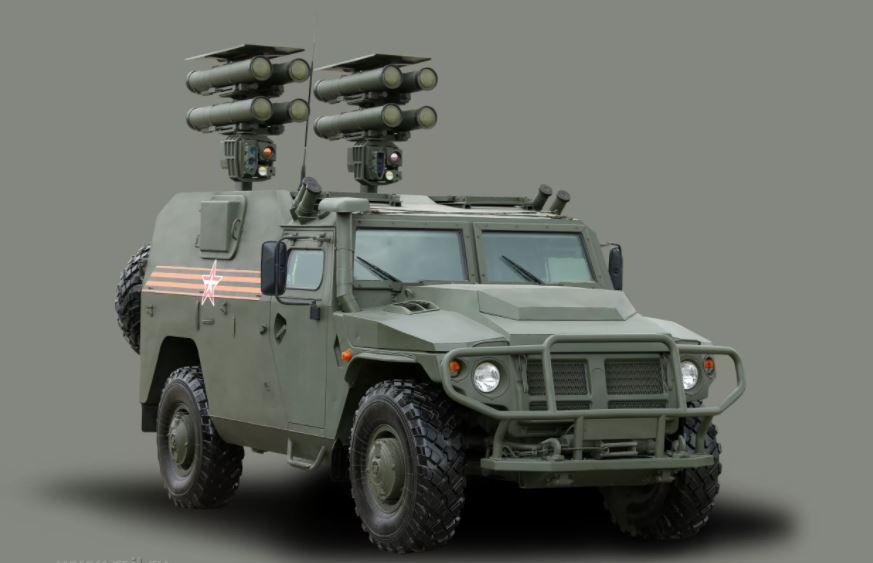 Возможности новейшего ракетного комплекса «Корнет-Д1» для ВДВ