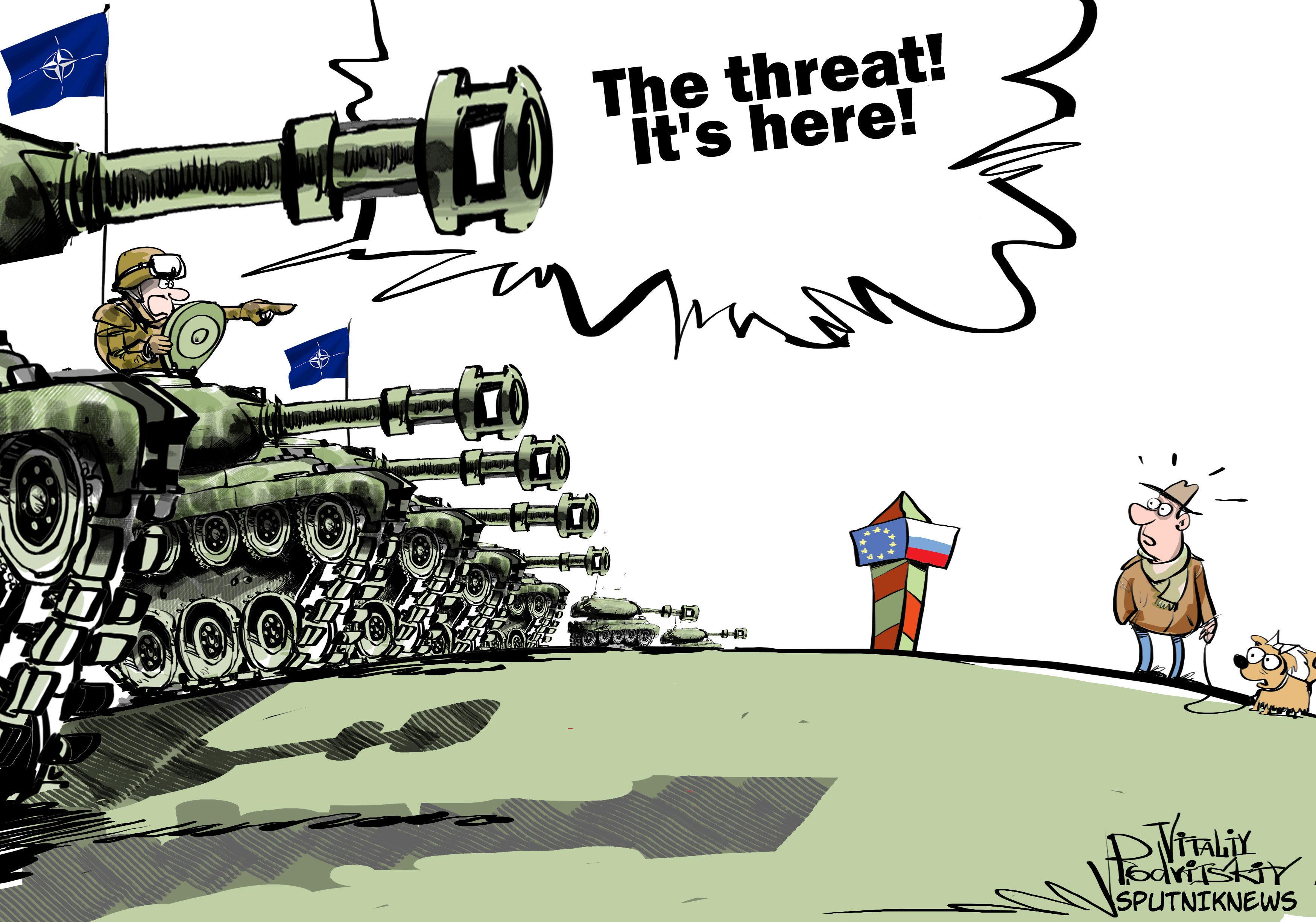 «Русское вторжение» в Прибалтику обернётся для НАТО крахом?...