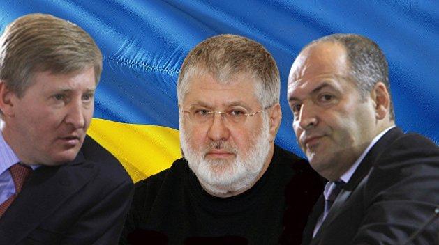 Как «богатеют» олигархи Украины