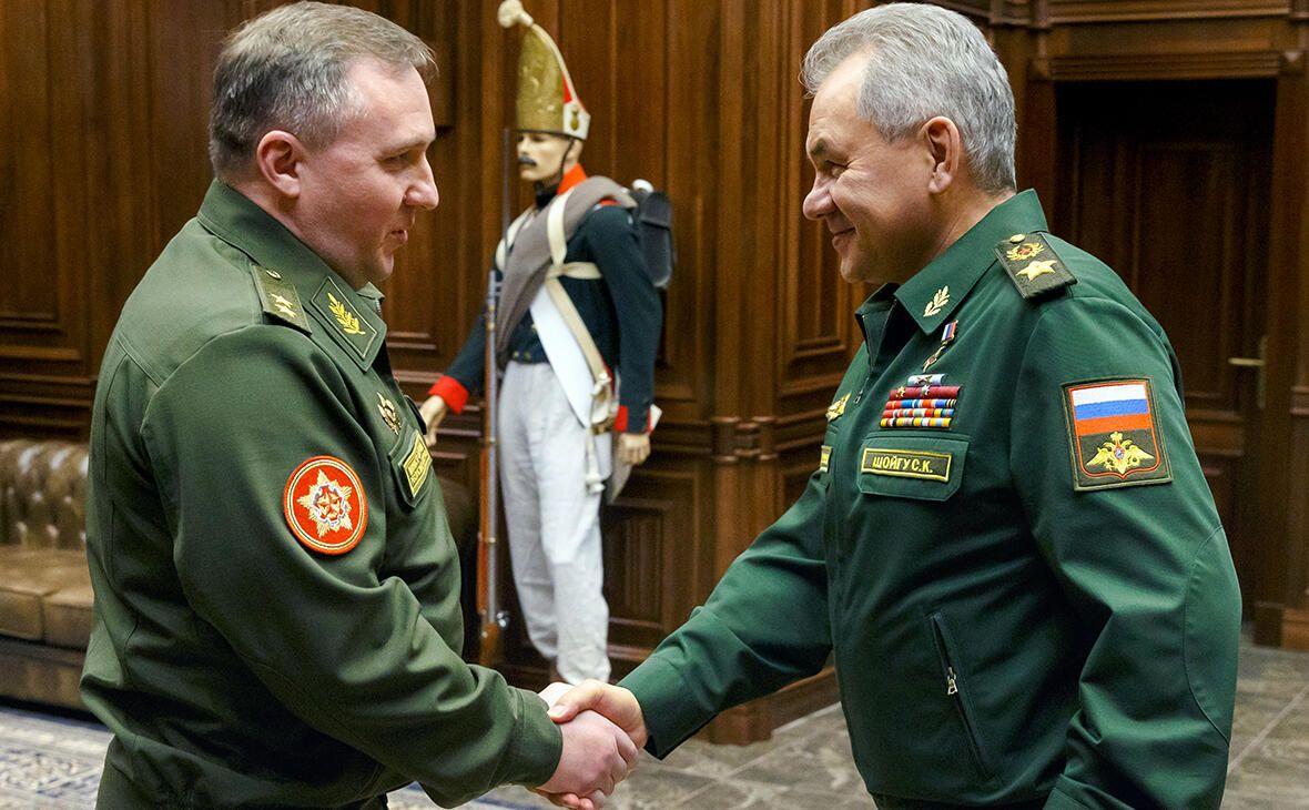 Россия и Беларусь на пороге создания единой армии?