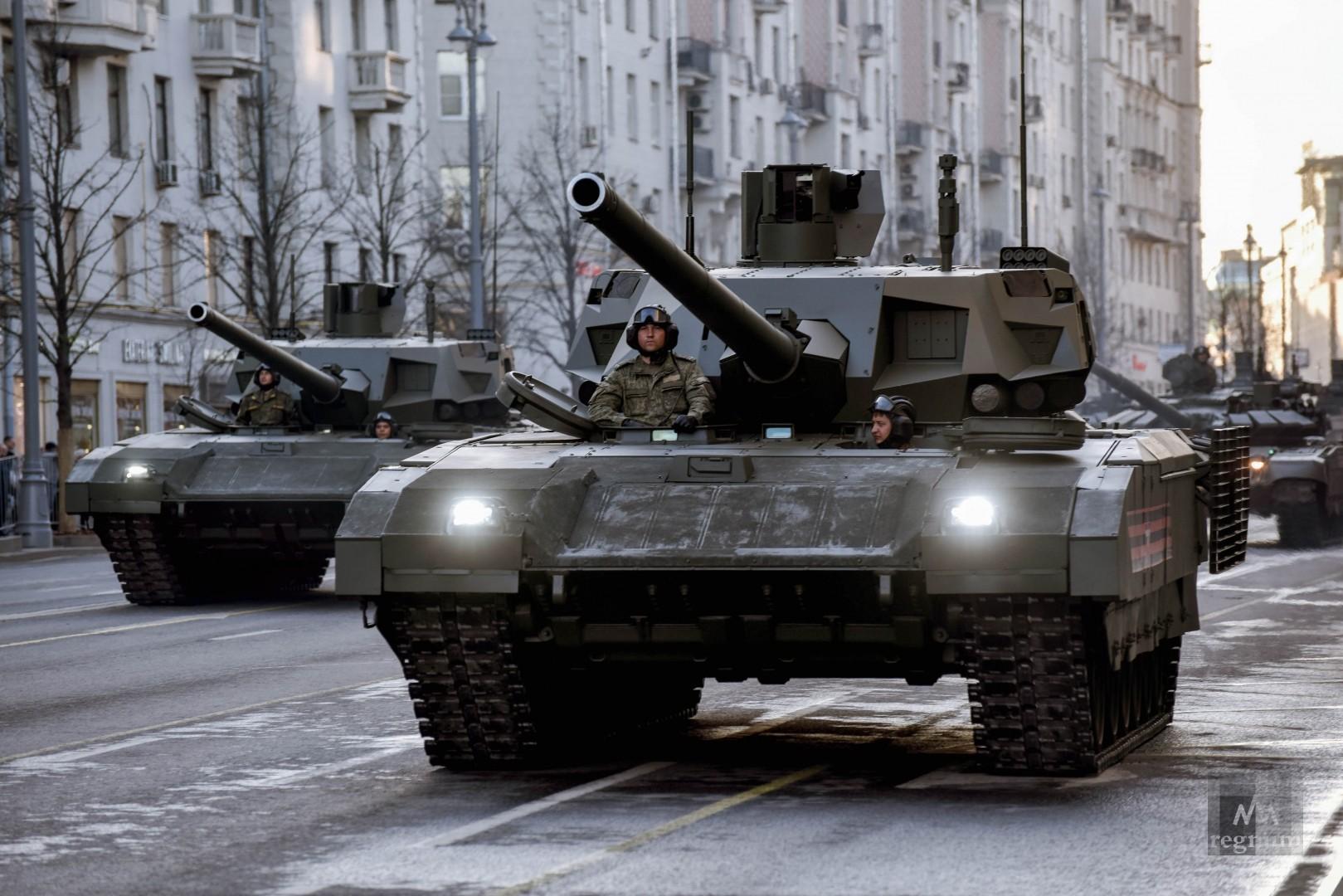 Названы самые лучшие танки современности...