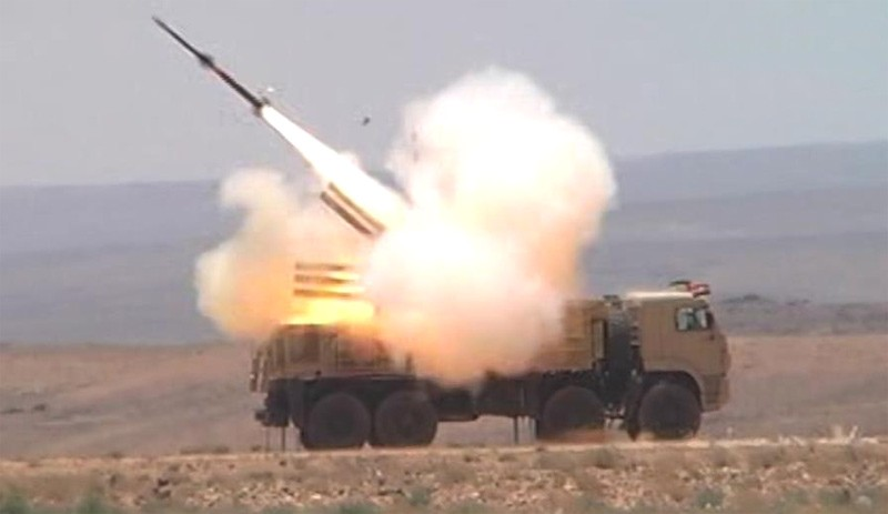 Российские ЗРК ПВО Сирии сбили 12 ракет над