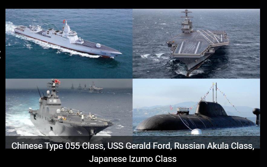 Названы ТОП-5 сильнейших военно-морских держав...